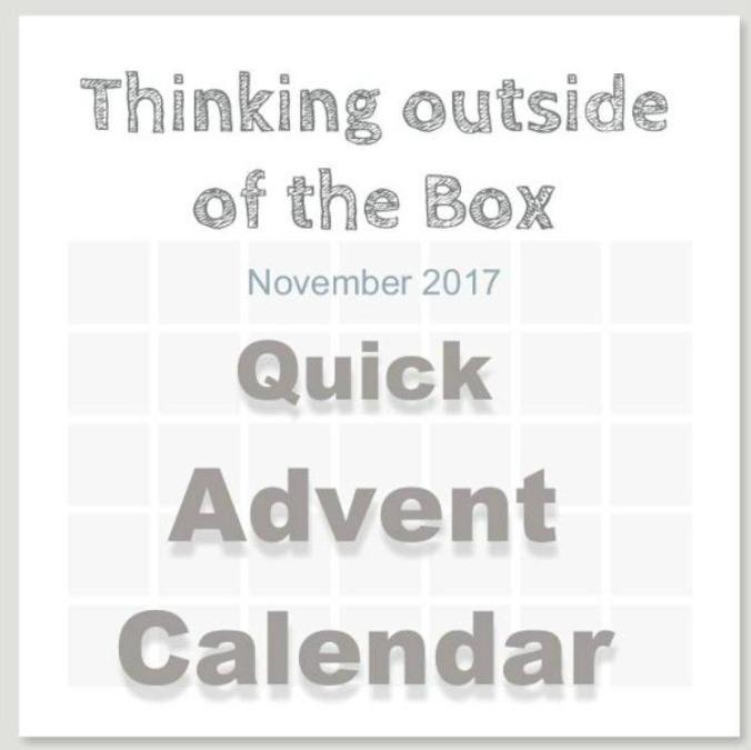 Quick Advent Calendar